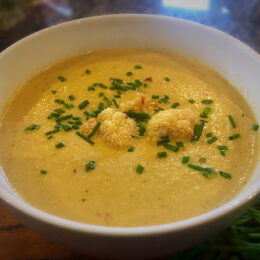 Thai Red Cauliflower Soup