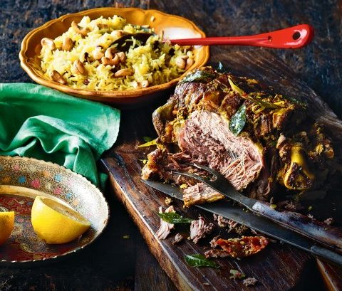 Indian Roast Leg of Lamb