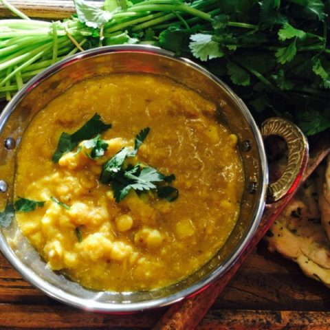 Lentil and Cauliflower Dhal