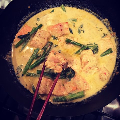shemins thai red broccoli curry