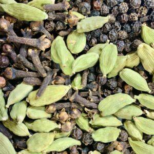 cloves green cardamom and black pepper