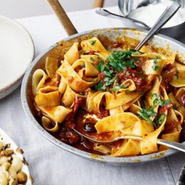 Shemins Pappardelle with Harissa