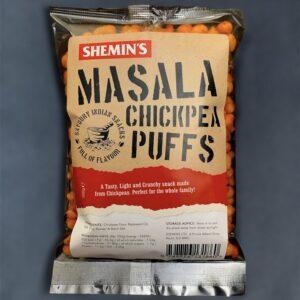 Shemin's Masala Chickpea Puffs